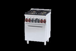 Kuchnia Gazowa Z Piekarnikiem Elektrycznym Rm Gastro Cfm4 66 Gem